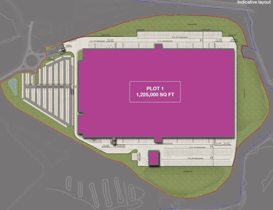 PLOT 1 LONDON COMMERCIAL PARK - PLANS