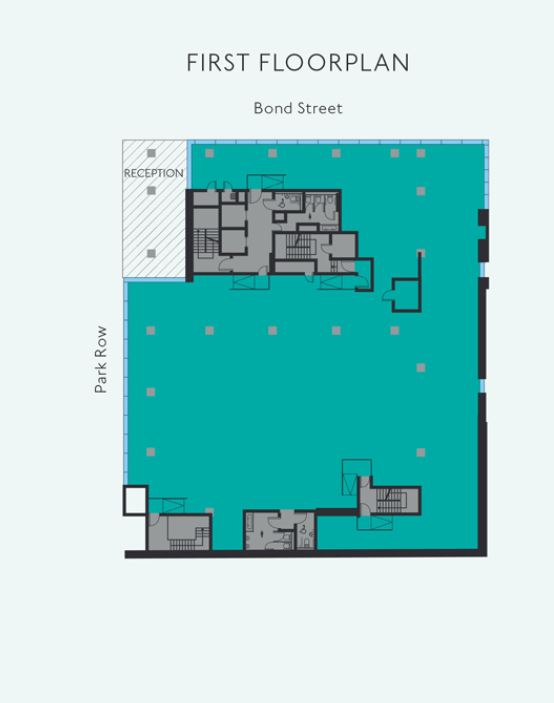 7 PARK ROW 1ST FLOOR PLAN