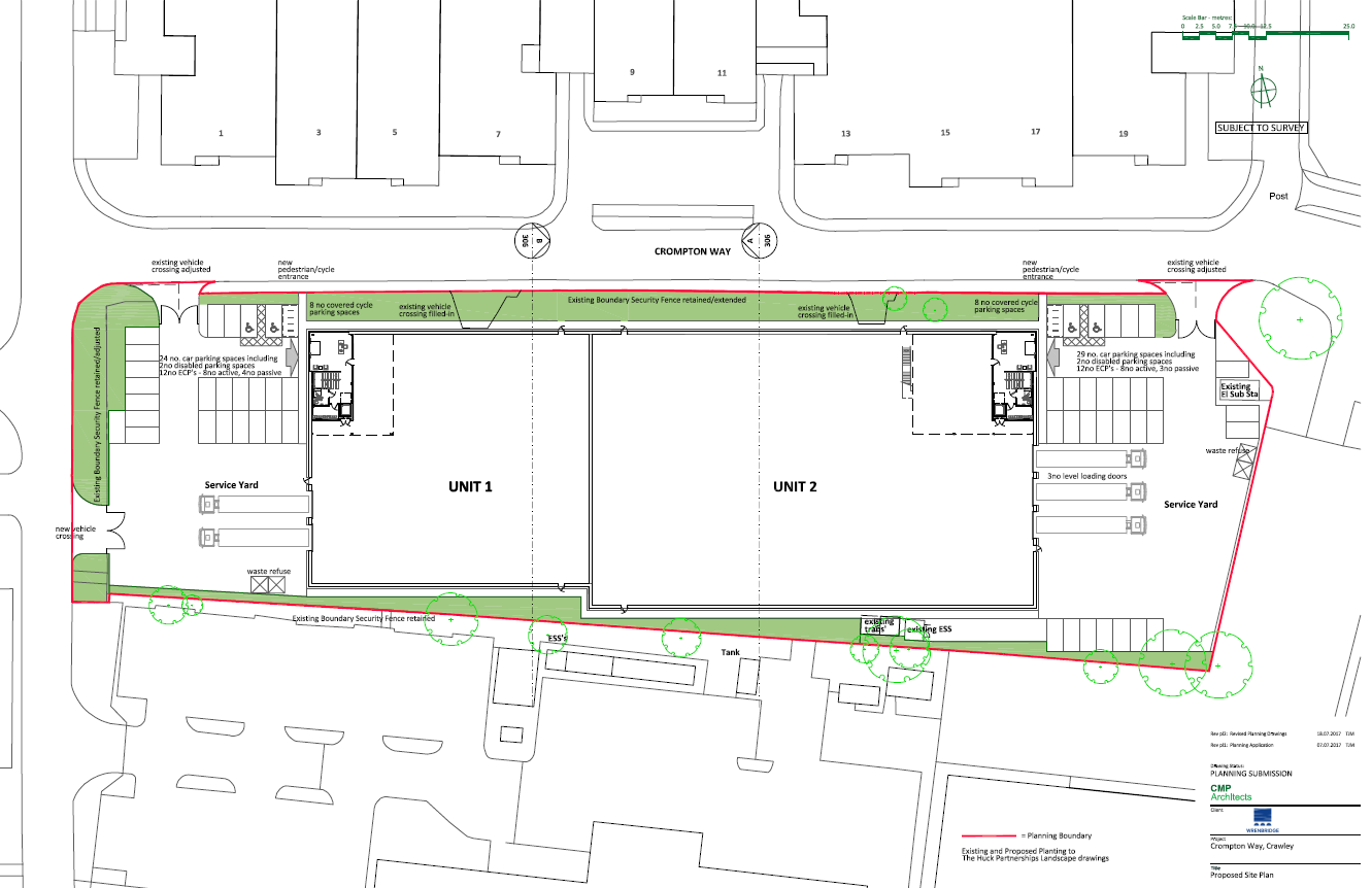 SNIP OF SITE PLAN FOR PLUS