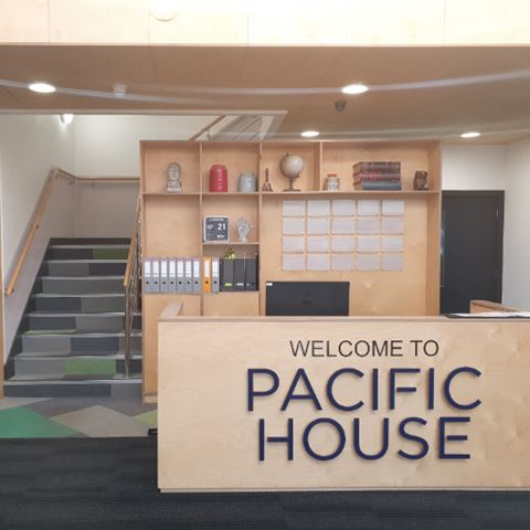RECEPTION - BLANK - PACIFIC HOUSE