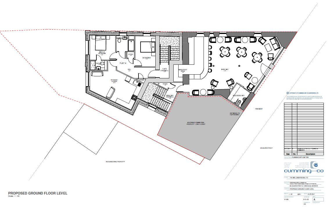 PROPOSED GROUND FLOOR LEVEL