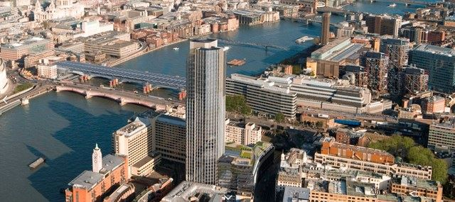 SOUTHBANK TOWER AERIAL SHOT